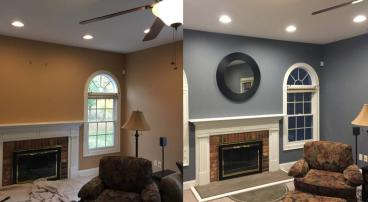Interior Living Room Paint in Guilford