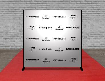 Step & Repeat Backdrop Displays