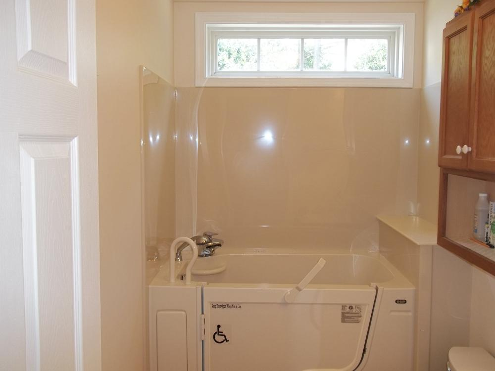 Walk-in-tub Re-Bath remodel in Midlothian, VA