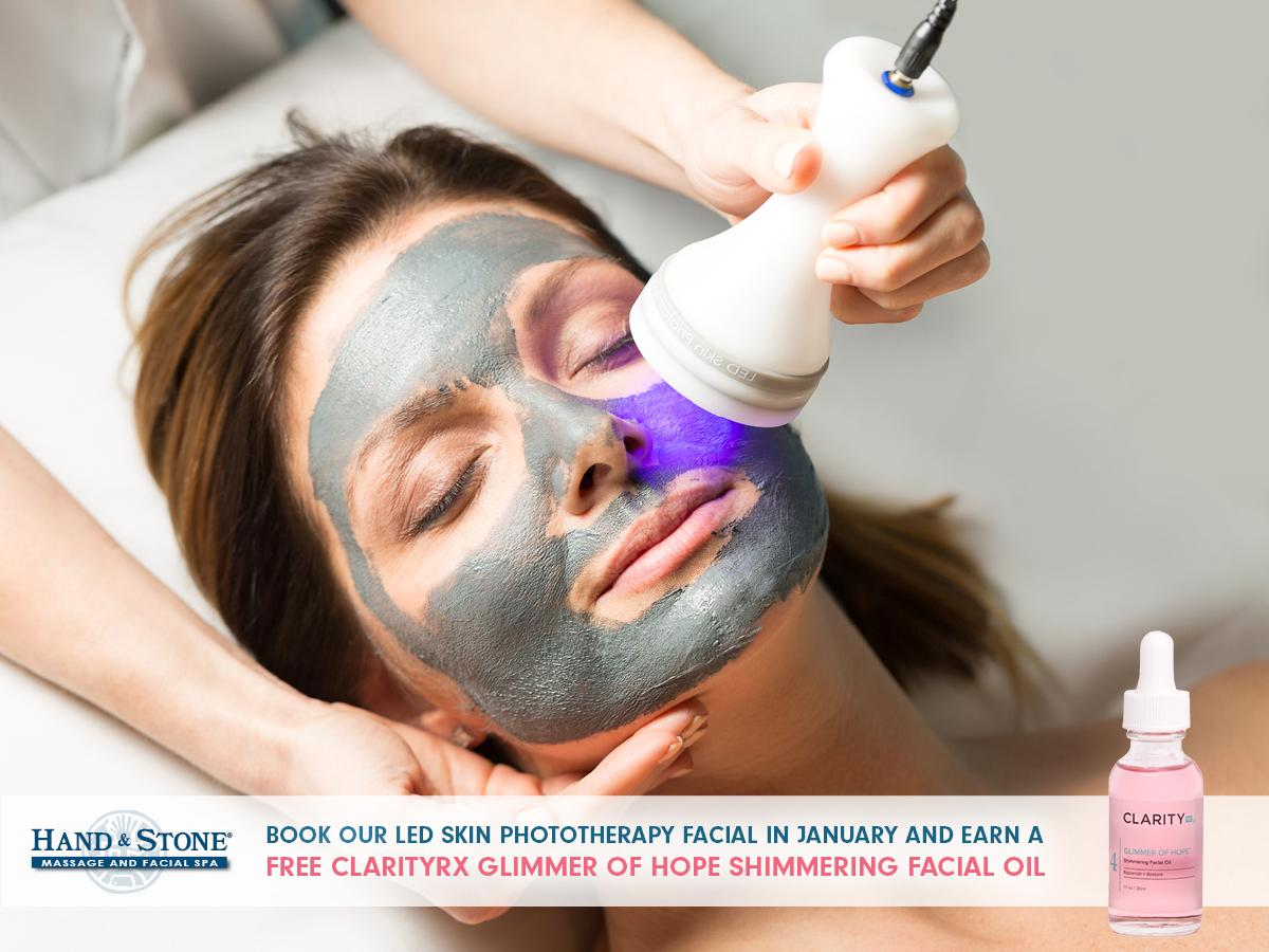 January Facial Special: LED Facial with FREE Gift