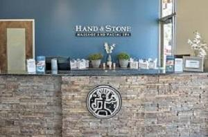 Hand & Stone Front Desk