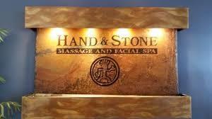 Hand & Stone Waterfall