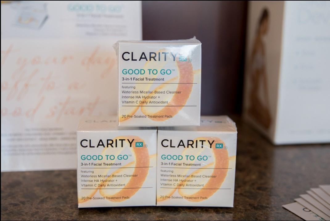 Clarity Facial To Go Products