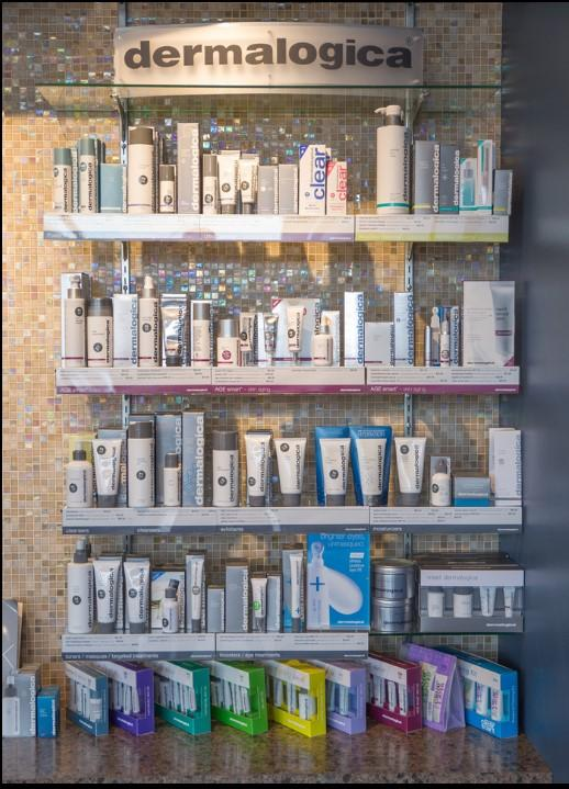 Dermalogica Product Display
