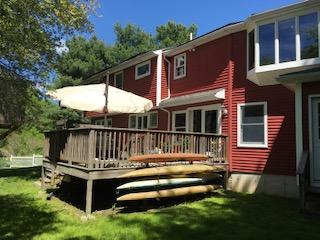 Existing deck ready to be removed