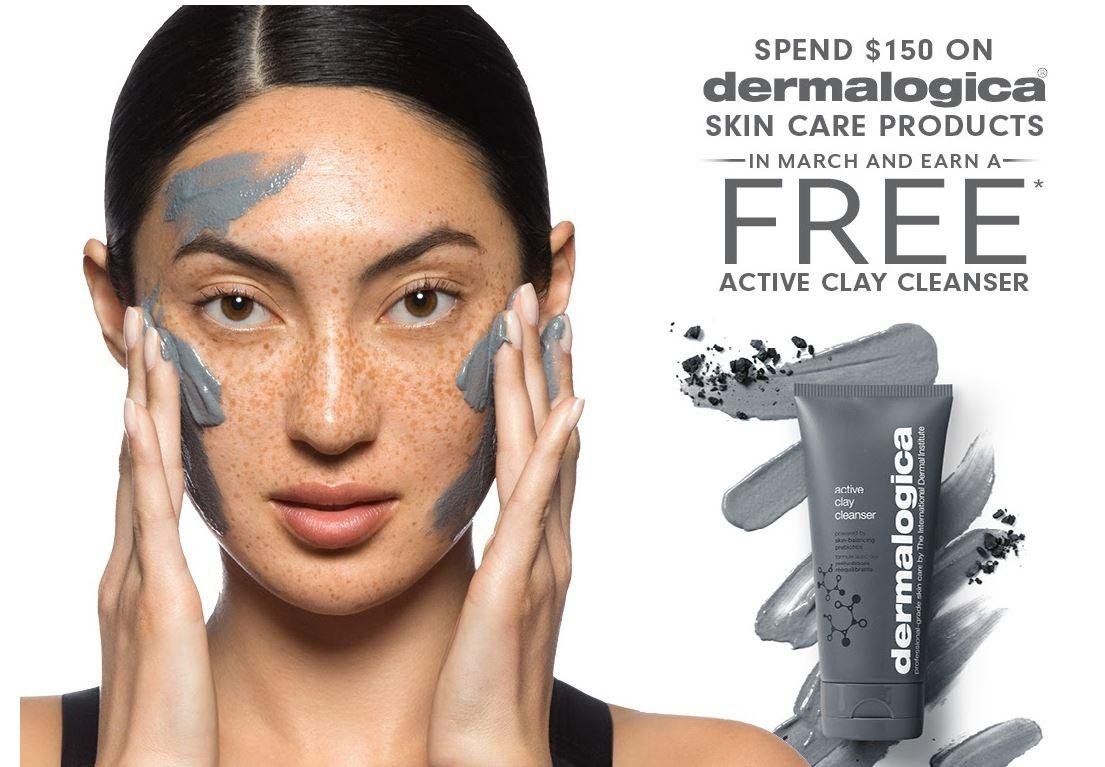 FREE Dermalogica Gift with Purchase in March Only