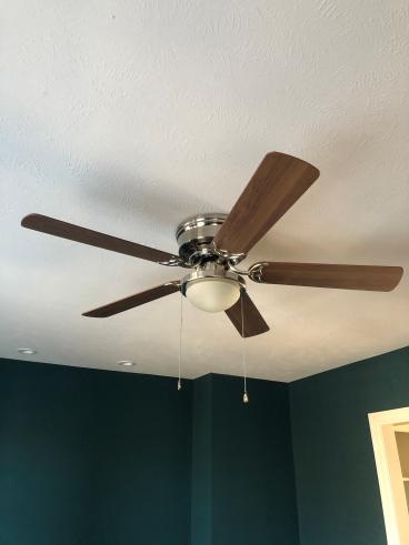 Replaced a Ceiling Fan