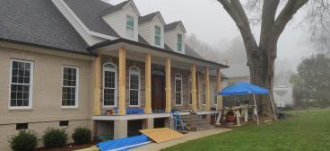 Porch Update in Davidson - James