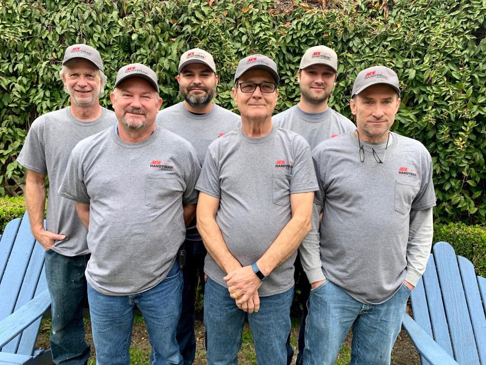Ace Handyman Services Dallas: Chris, Brian, Saulo, Steve, Benjamen, & Philip