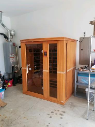 Sauna Kit Assembly, Huntersville