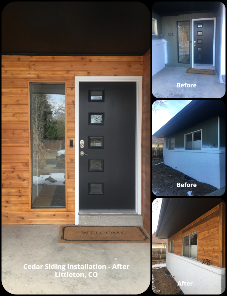 Cedar Siding Installation - Littleton, CO