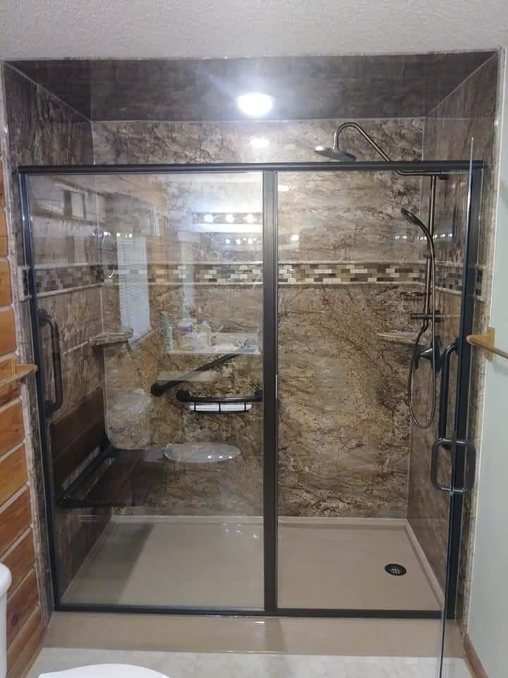 TAHOE GRANITE WALL SURROUNDS
