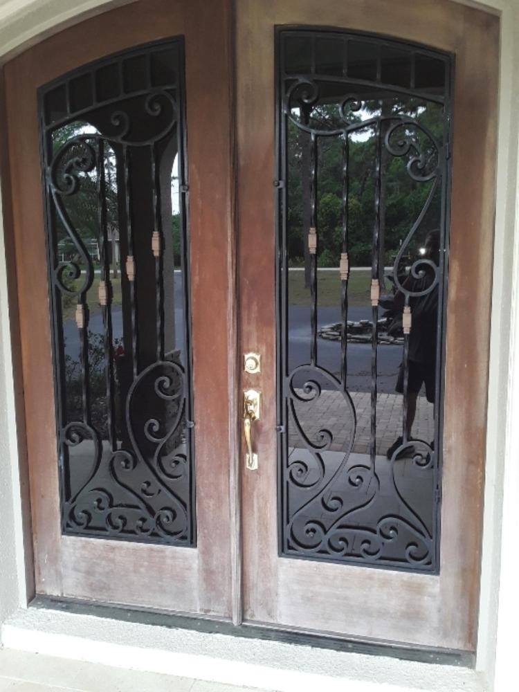 Exterior door makeover
