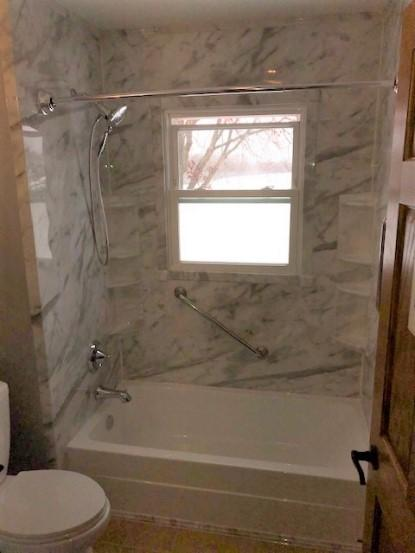 Got a window in your shower?  Not a problem for ReBath