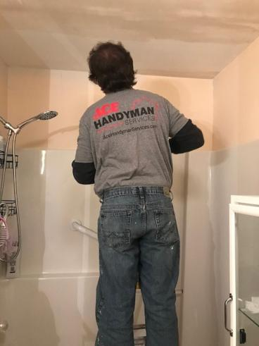 Ace Handyman Services of Wilkes-Barre and Scranton Drywall Repair in Kingston