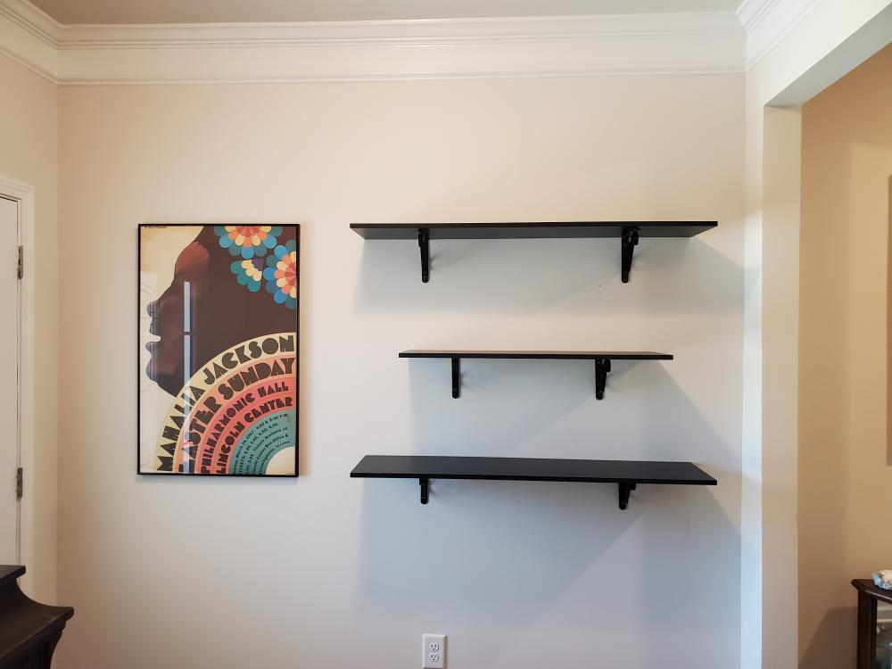 Shelving and Picture Hanging, Davidson, NC