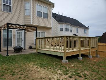 New Deck and Pergola