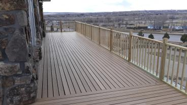 Deck repair finished