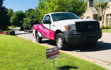 Tulsa Mosquito Authority Truck
