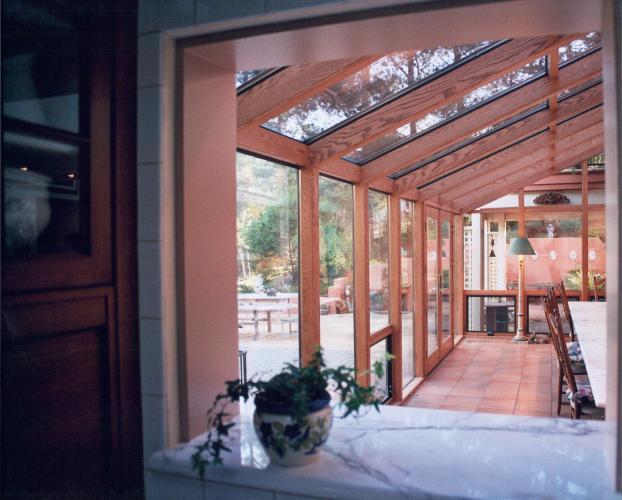 Wood Interior Room