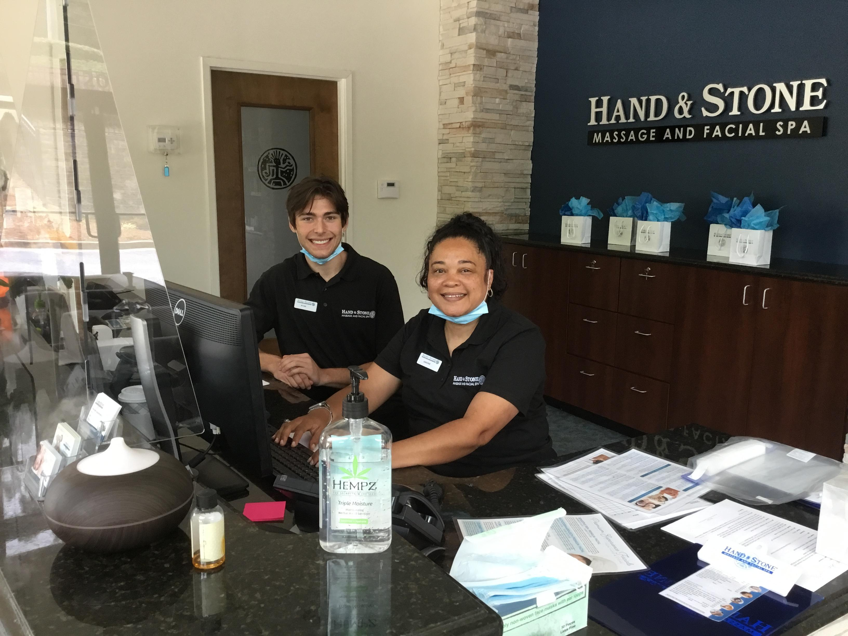 Concierge Desk Spa Associates