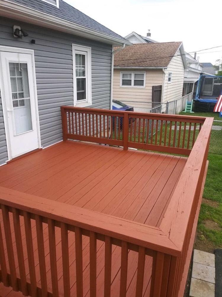 Deck Staining in Swoyersville