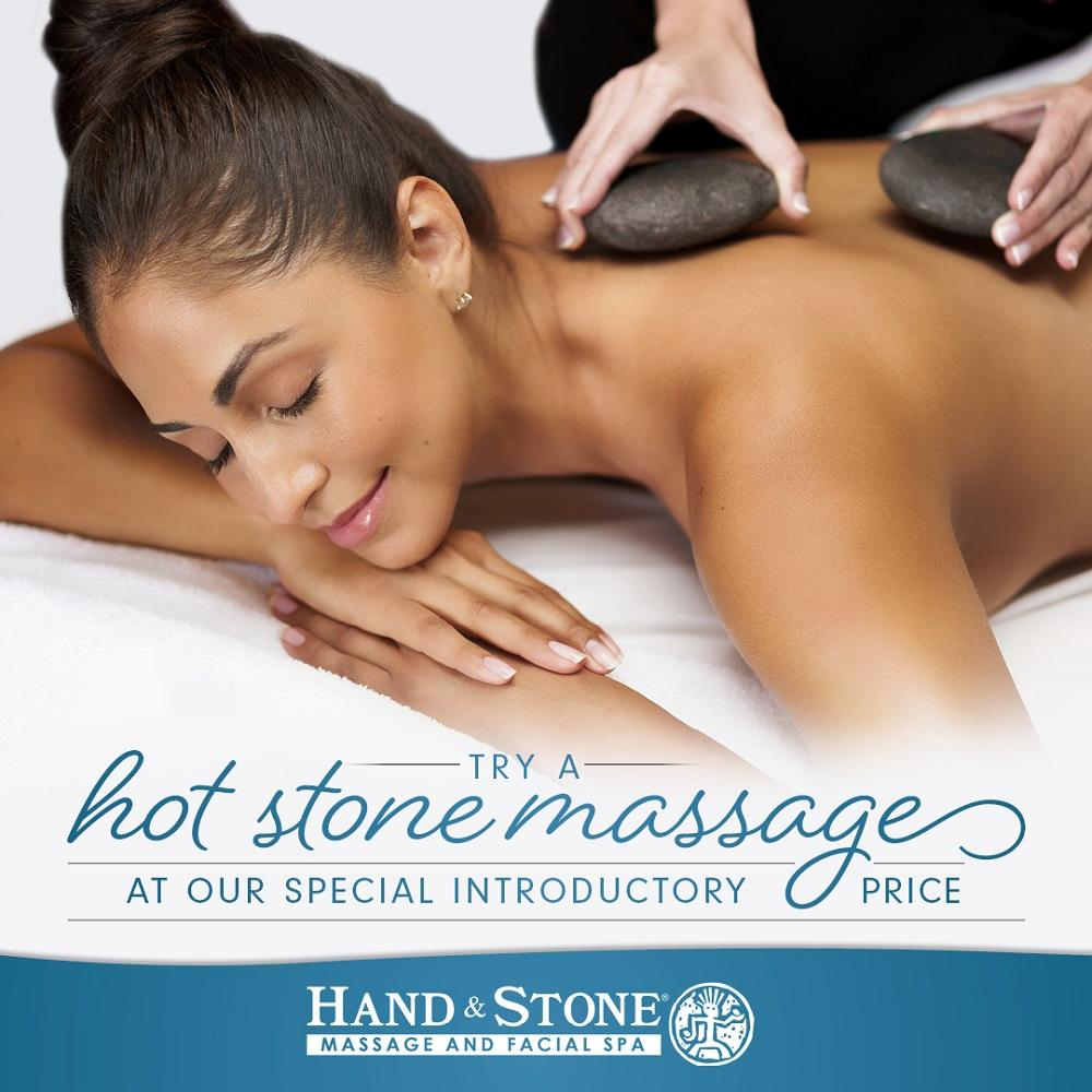Hand & Stone Hot Stone Massage