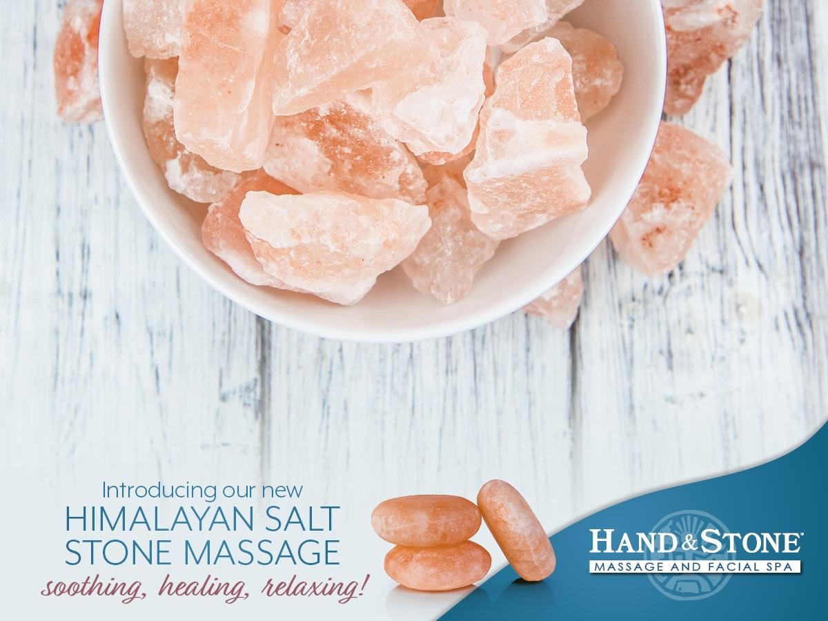 Healing with a Himalayan Salt Stone Massage