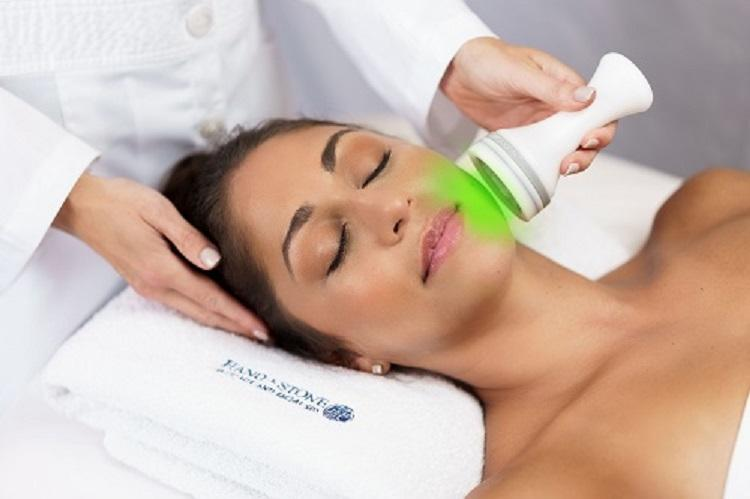 Green LED Skin Phototherapy