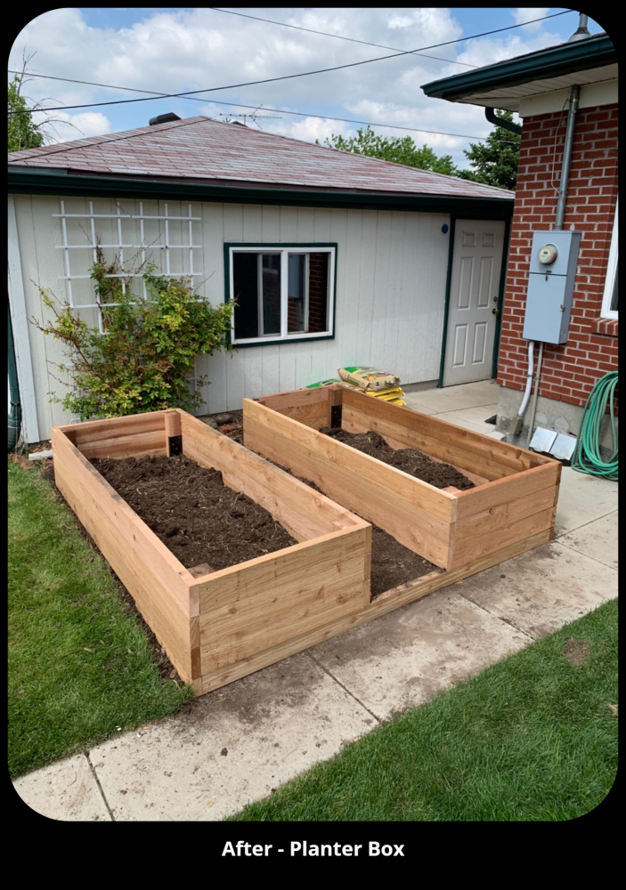 Planter Box - Thornton