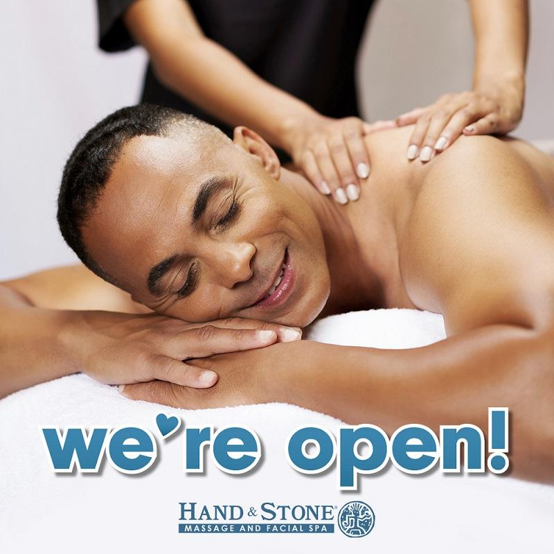 Hand & Stone - Rolling Meadows is Open!