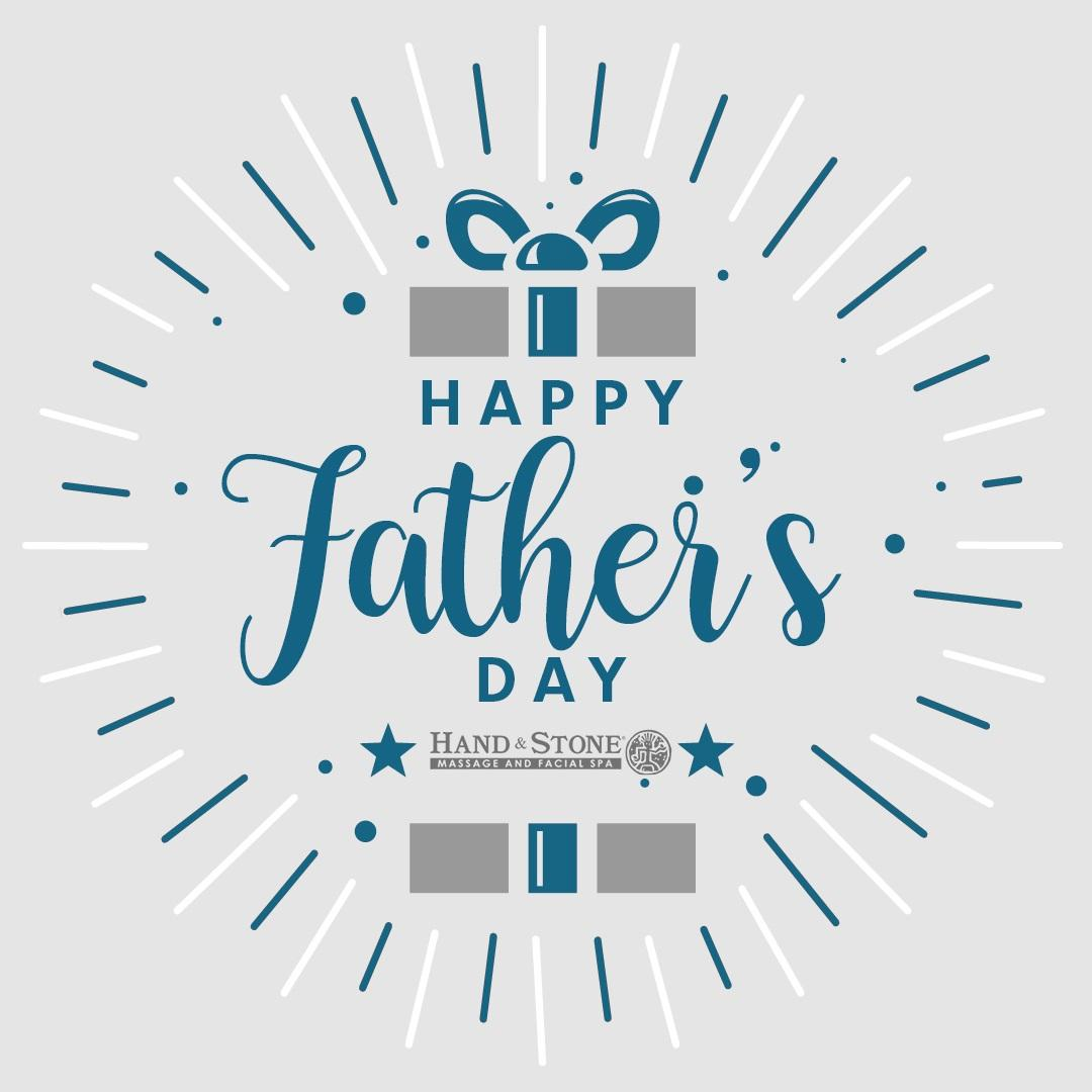 Happy Father's Day from Hand & Stone Massage and Facial Spa!