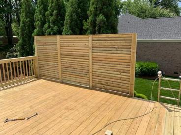 Privacy Fence for 2nd Story Deck
