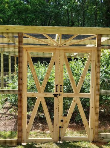 Blueberry Bush Enclosure - Huntersville
