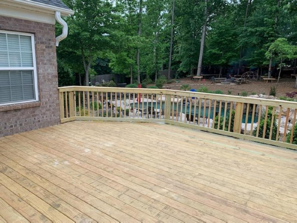 2nd Floor Deck, Denver NC
