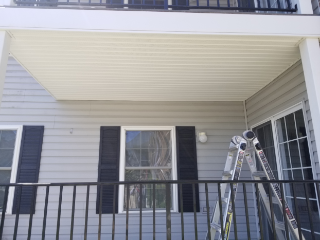 Installing Soffit in Sykesville, MD