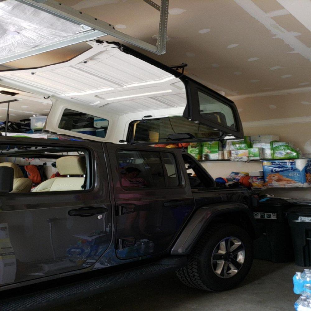 Jeep top lift installation