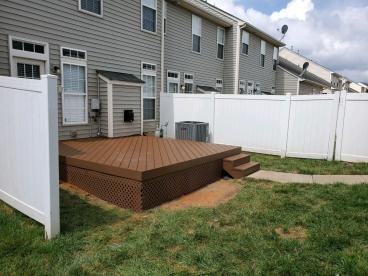Gilead Ridge Composite (Trex) Deck
