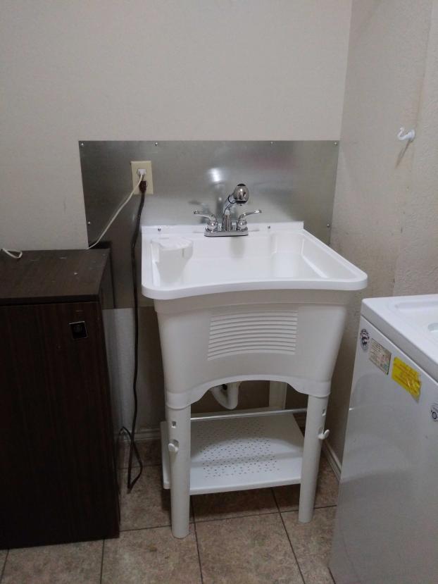 Utility Room, Backsplash, Mansfield, TX (After)
