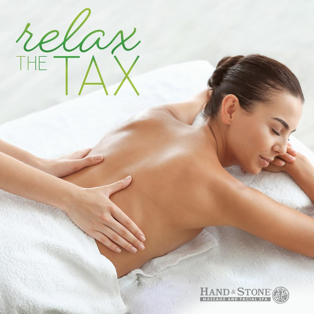 Relax The Tax - Hand & Stone Massage and Facial Spa