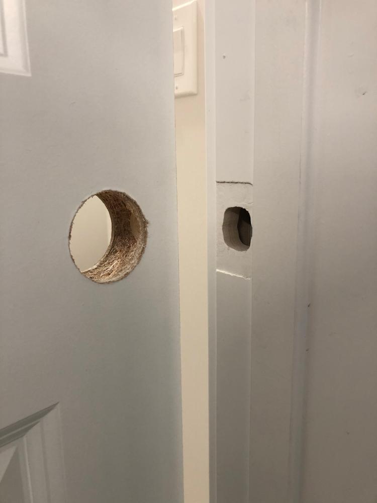 Changing Door Handles