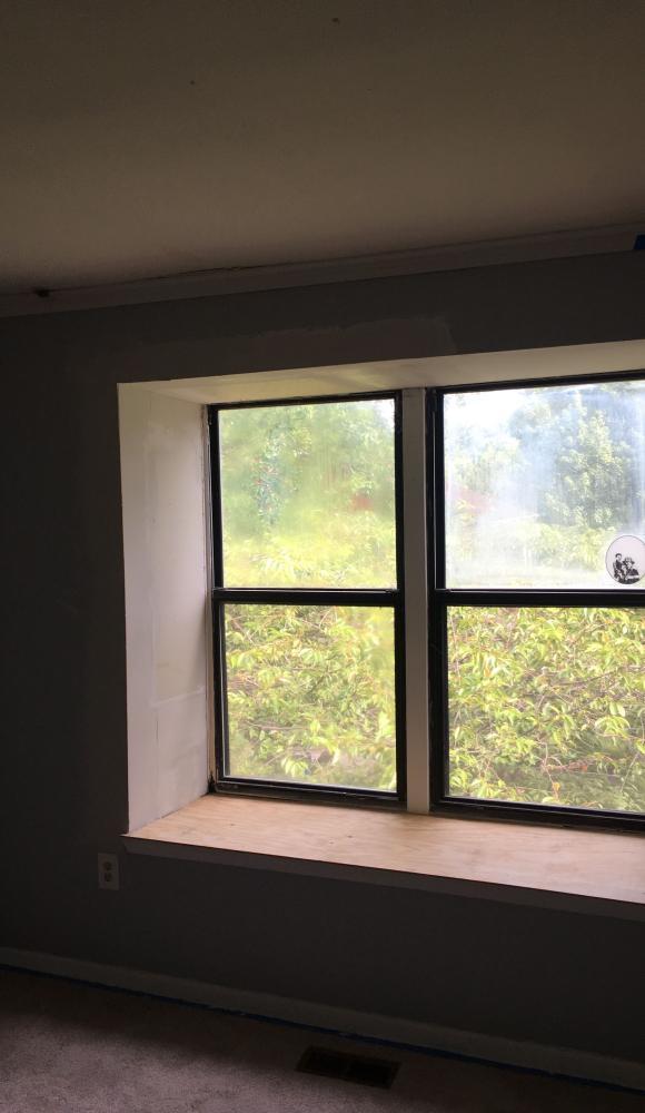 Water Damage Window Sill Repair