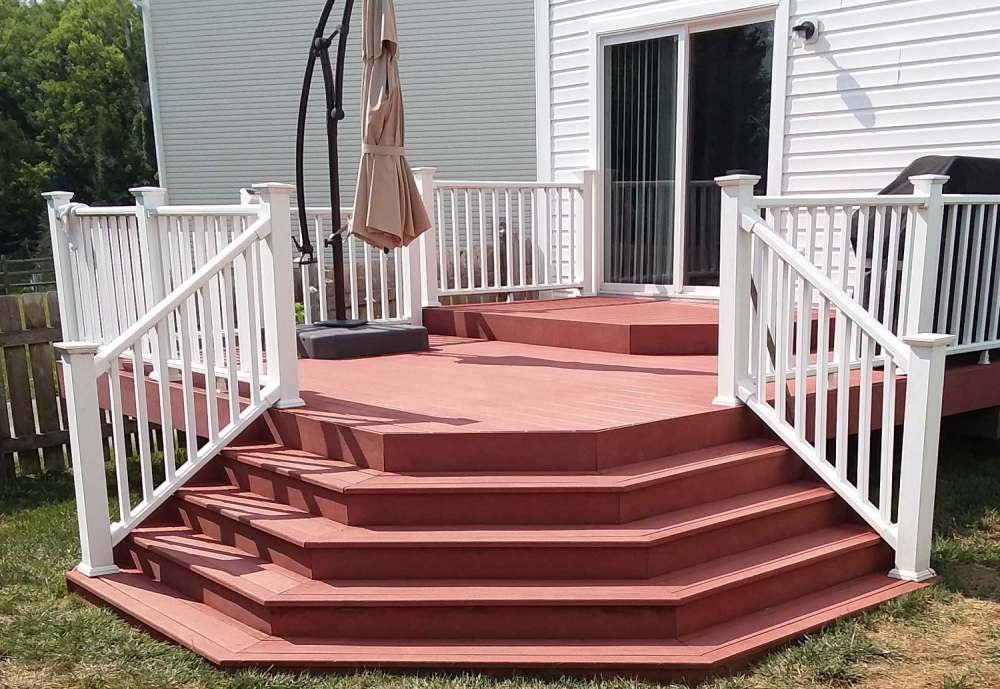 Deck Stairs Repair