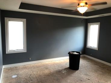 Prep and Painted Bedroom