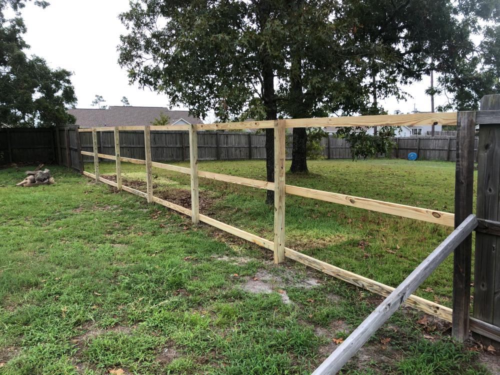 Fence Job 1