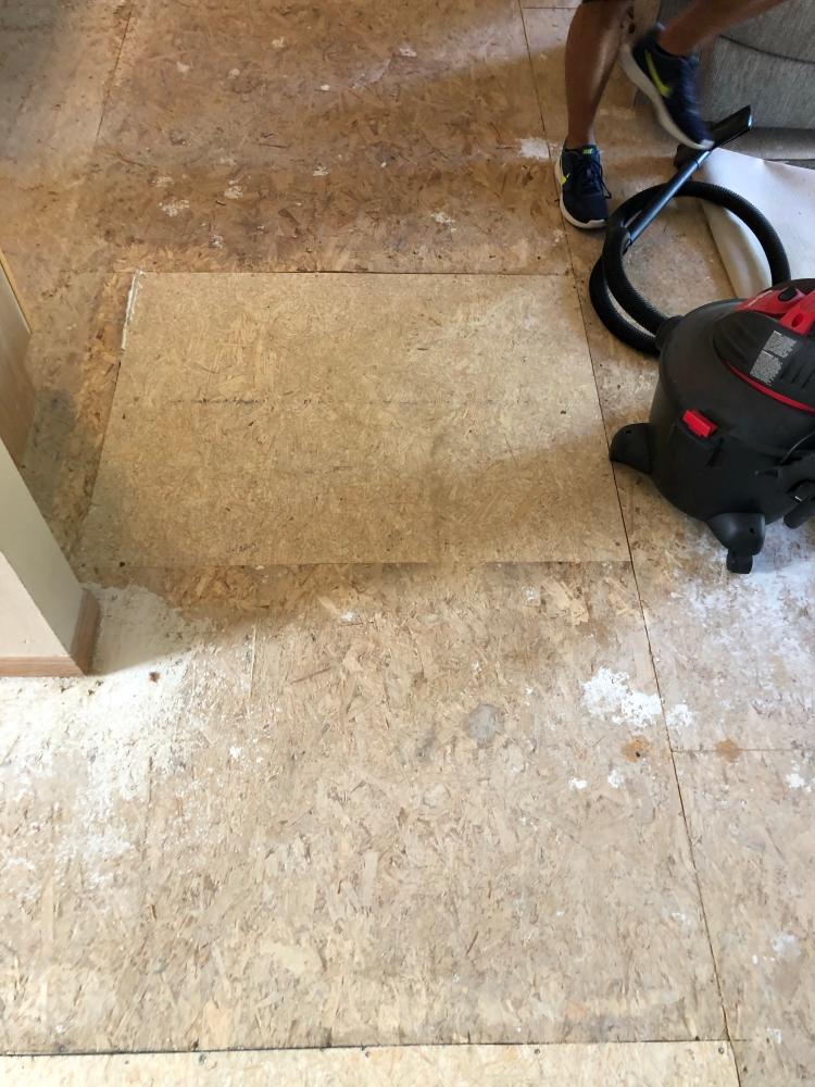 Replaced Sub Floor