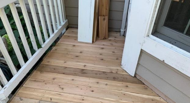 Deck Repair After Photo