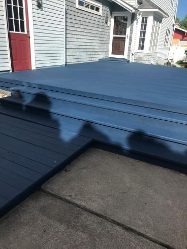 Deck Staining in Plains