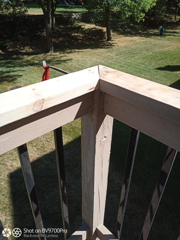 Deck Railing Replacement - After