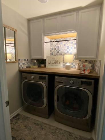 Laundry Transformation - Briargate Subdivsion in Mooresville